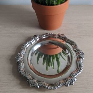 Silver-look Small Tray